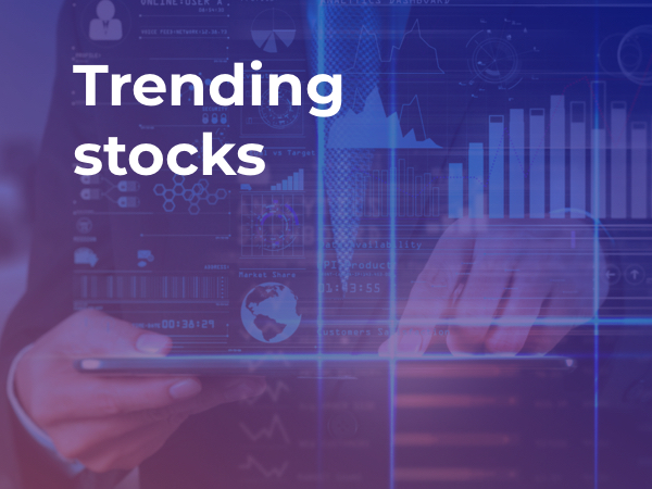 trending stocks high volatility